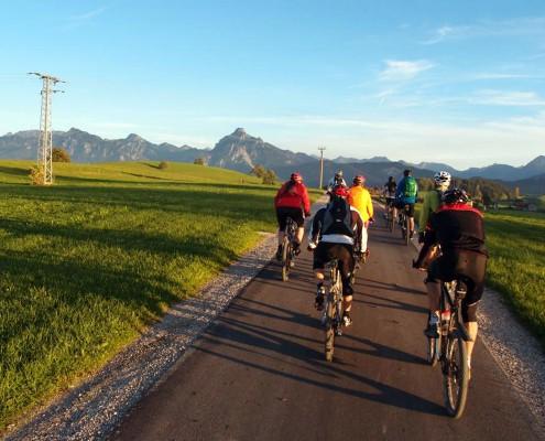 Geführte E-Bike Tour im Allgäu