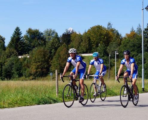 Geführte Rennradtour mit Allgäu Aktiv