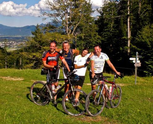 Geführte E-Bike-Tour im Allgäu