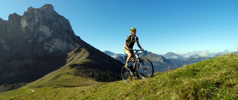Geführte Mountainbike-Touren im Allgäu
