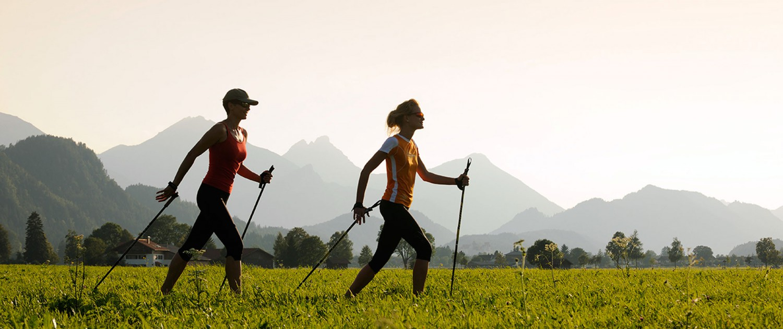 Nordic-Walking-Kurse mit Allgäu Aktiv