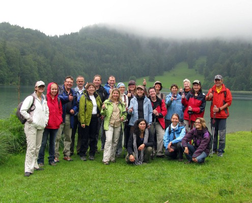 Nordic-Walking Training im Allgäu