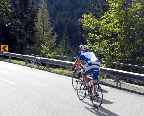 Rennradtour im Tirol
