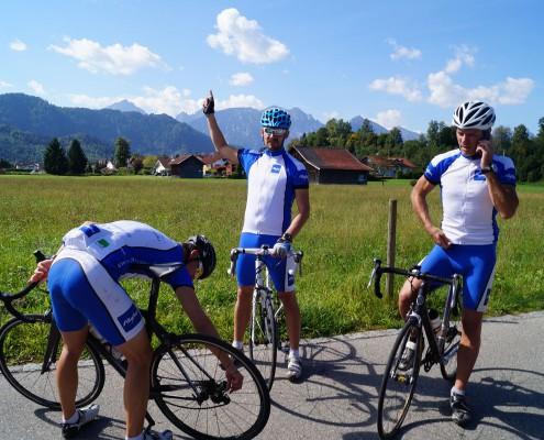 Rennradtour im Allgäu