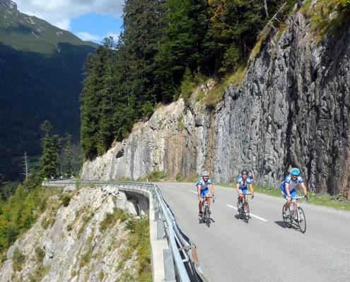 Rennradtour auf Pässen im Allgäu und Tirol