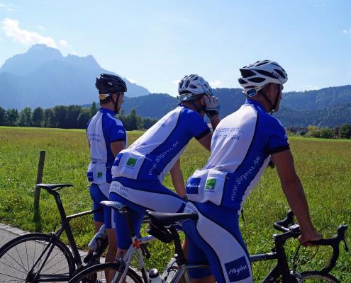 Rennradtour im Allgäu und Tirol