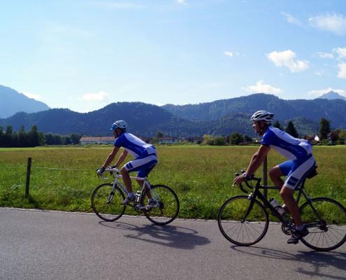 Rennradtour mit Allgäu Aktiv