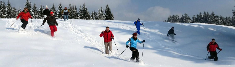 Geführte Schneeschuhwanderung mit Allgäu Aktiv