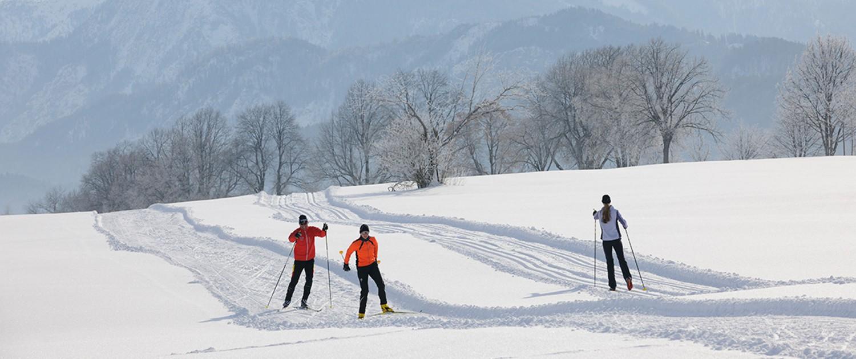 Bild von einer Schneeschuhtour