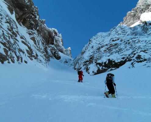 Skitourengehen Einführungskurs im Allgäu