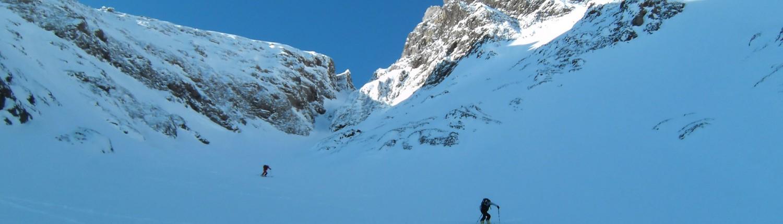 Ski-Tourengehen Kurs im Allgäu