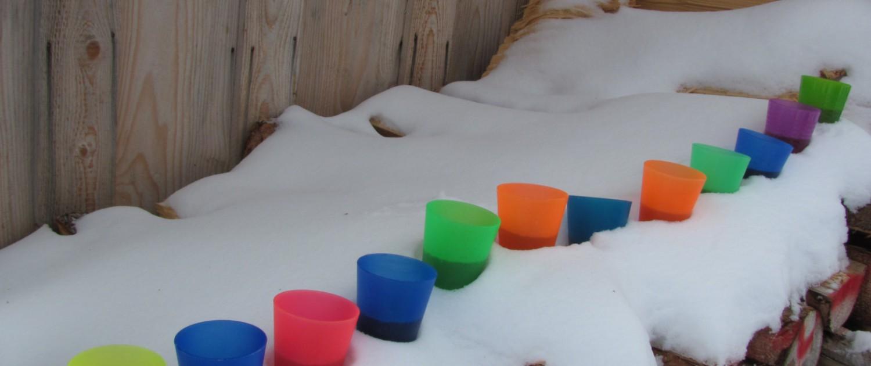 die Verlaufsmotivation bei der Schneeschuhtour